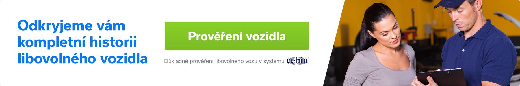 Odkryjeme vám kompletní historii vozidla - Cebia