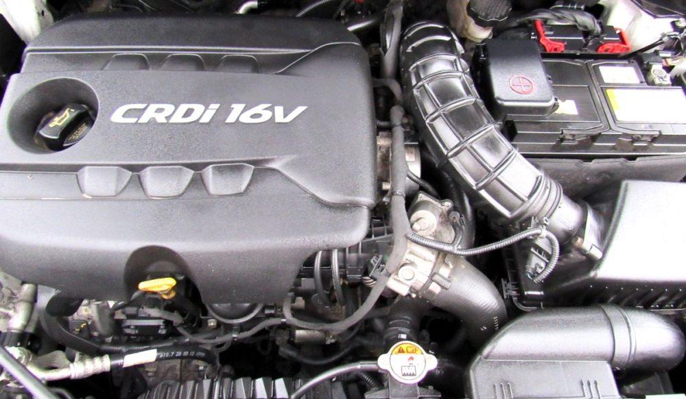 Kia ceed 2012 motor 1.4 CRDi