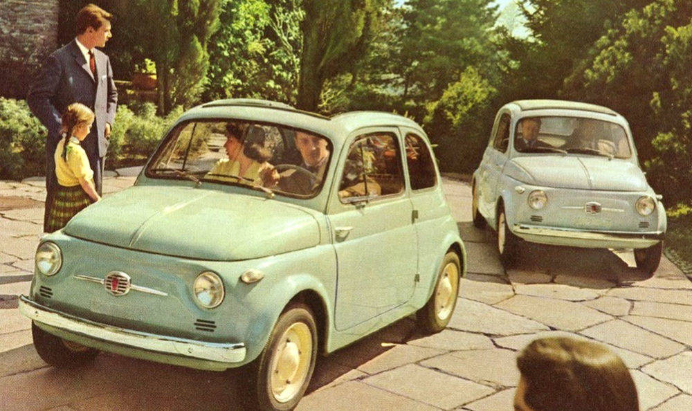 Starý Fiat 500 1957-1975