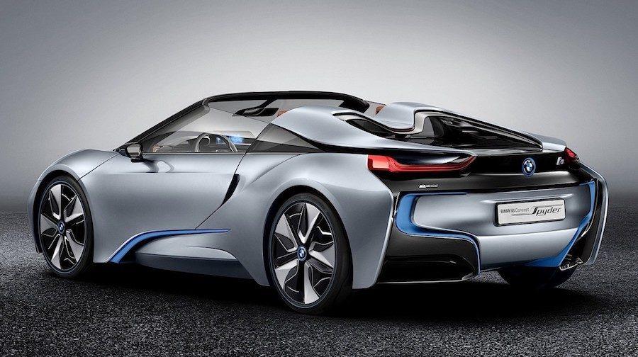 BMW i8 roadster premiéra