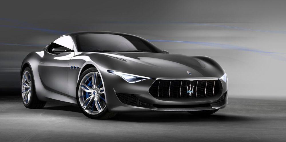 Elektromobily Maserati
