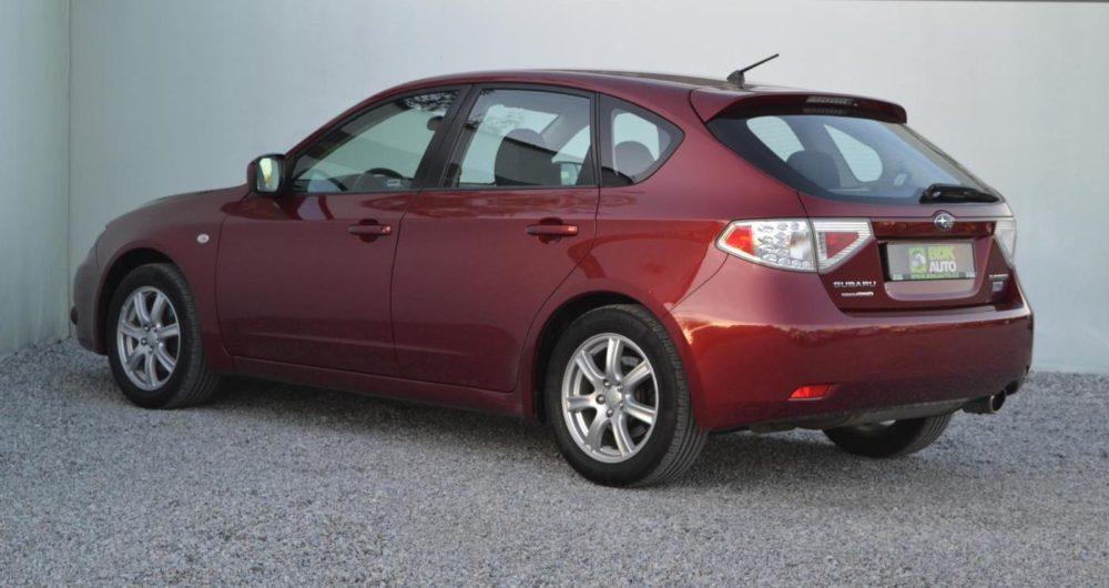 Subaru Impreza (2007-2012) recenze