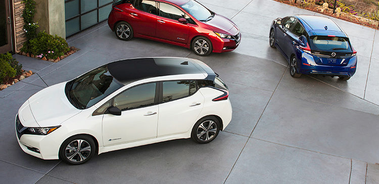 2018 Nový Nissan Leaf