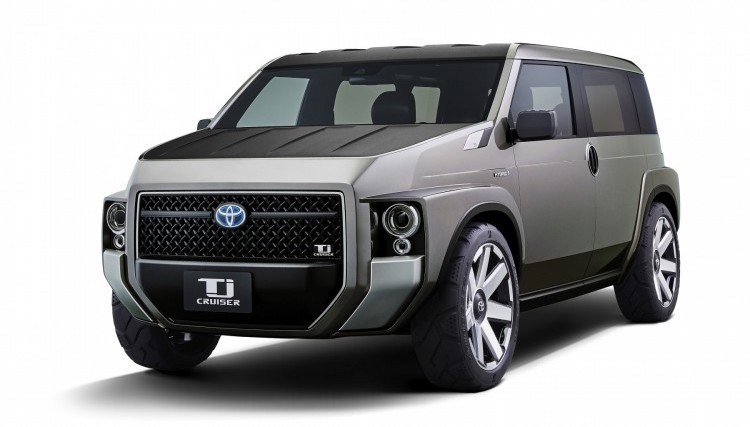 Krabicoidní koncept Toyota TJ Crusier