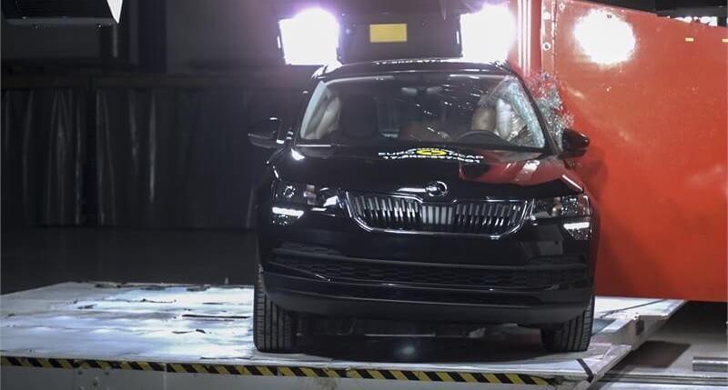 Škoda Karoq Crashtest EuroNCAP