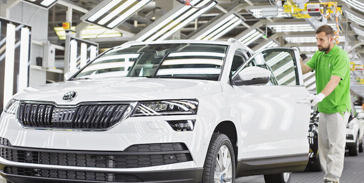 Škoda letos vyrobila už 1 milion nových aut