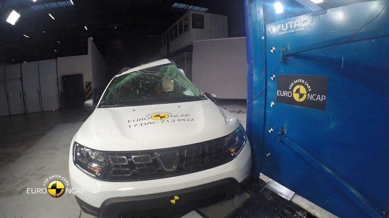 Dacia Duster crashtest