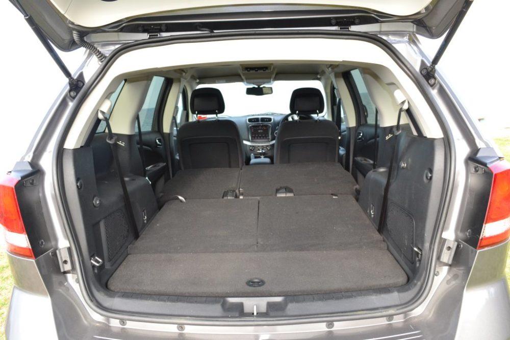 Fiat Freemont zavazadlový prostor