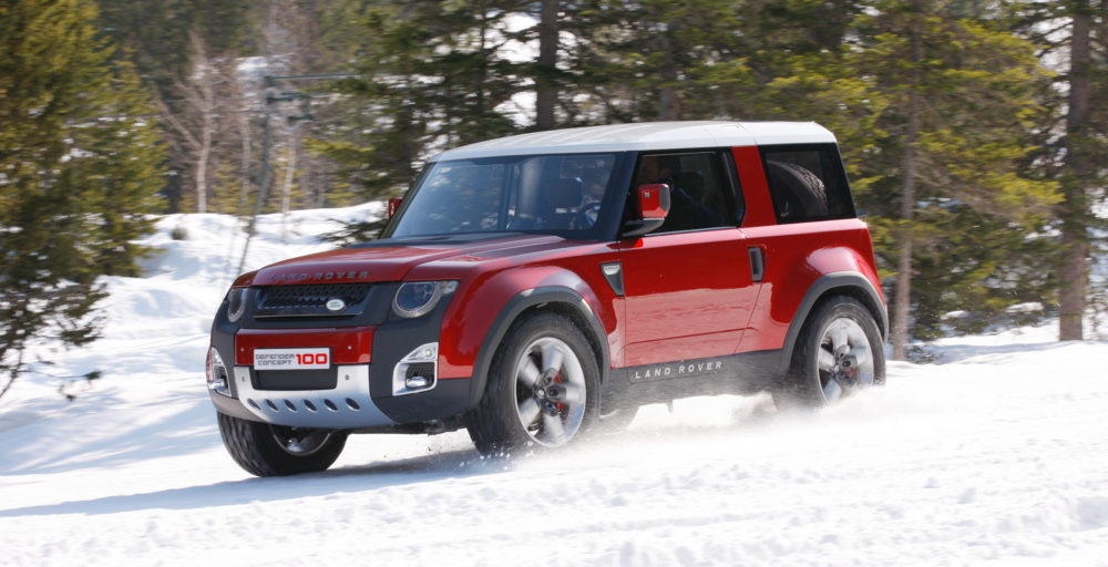 2018 Land Rover Defender koncept