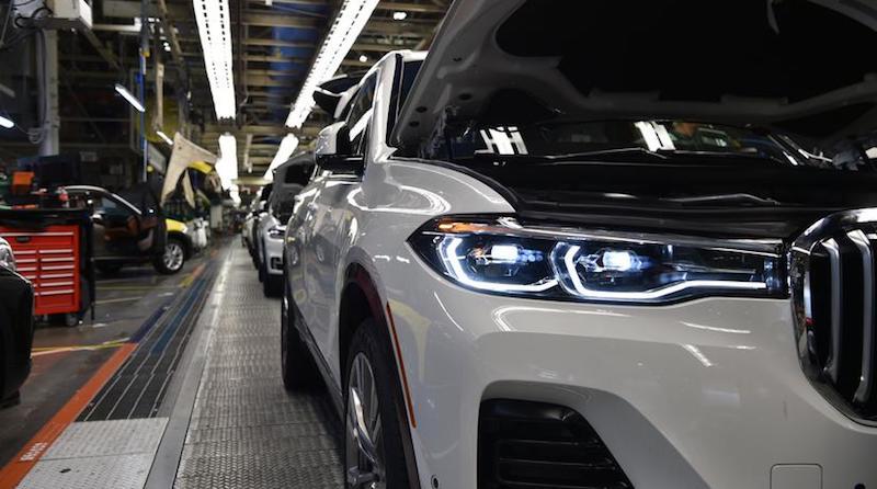 BMW X7 první fotografie