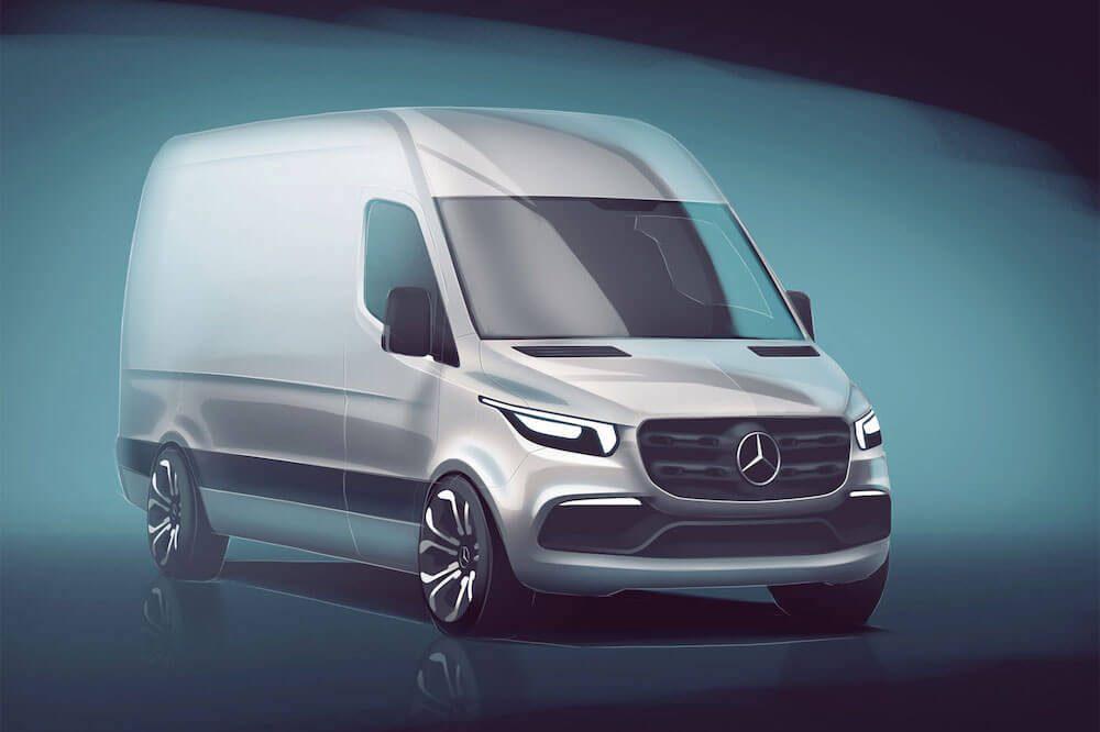 Nový Mercedes-Benz Sprinter odhalen