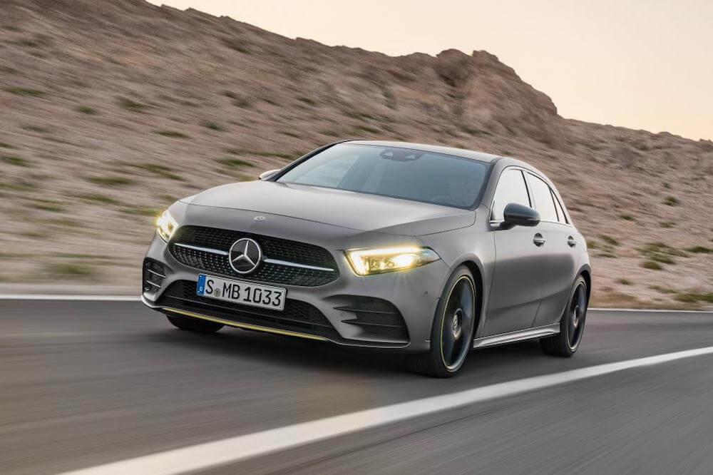 Mercedes-Benz třídy A 2018 premiéra