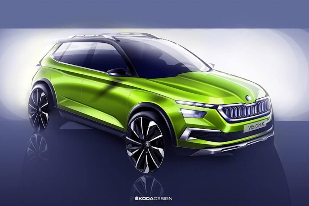 Škoda Vision X koncept