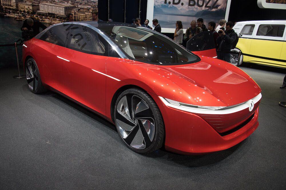 Volkswagen I.D. Vizzion Koncept