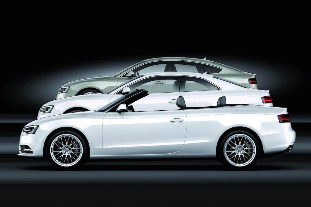 Audi A5 Kupé, sportback, kabrio